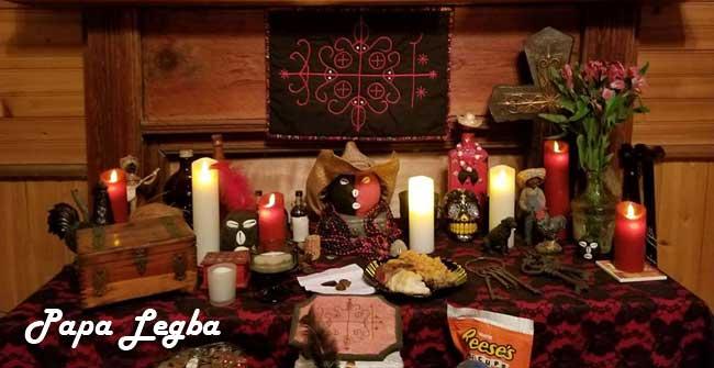 Voodoo Papa Legba / Voodoo Lwas